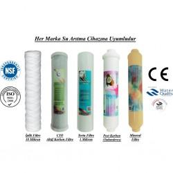 İplik+CTO Aktif Karbon+1 Mikron Sediment+Post Karbon+Mineral