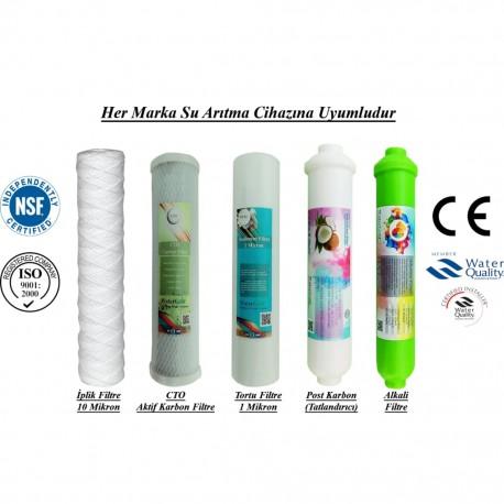 İplik+CTO Karbon+1 Mikron Sediment+Post Karbon+Alkali