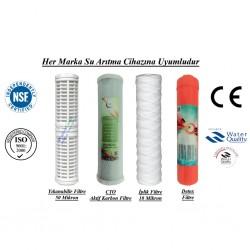 Yıkanabilir+CTO Aktif Karbon+İplik+Detox Filtre