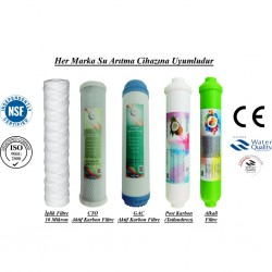 İplik+GAC Aktif Karbon+CTO Aktif Karbon+Post Karbon+Alkali
